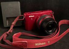 NIKON 1 J1 + 1 NIKKOR 10-30 VR + Original Battery and Charger *ONLY 4934 shots*