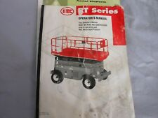 MEC RT SERIES OPERATORS MANUAL AND SAFETY BOOKS