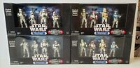 NEW MISB STAR WARS All 4 Ent. Earth Excl. CLONE TROOPER Troop Builder 4-Pack MIB