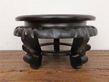 Holzsockel Untersetzer kleiner Tisch China ca. Ø20 D0016