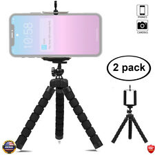 2 PCS Flexible Tripod Stand Mini Octopus Compatible with iPhone/Android Samsung