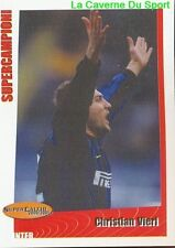 267 CHRISTIAN VIERI ITALIA INTER STICKER SUPER CALCIO 2001 PANINI