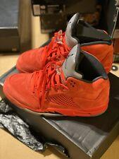 "Jordan 5 Retro ""Red Suede"" Size 9.5"