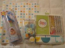 Target Circo Duck Shower Curtain Hooks Bath Mat Toy Set Yellow Ducky 4 Pcs. Kids