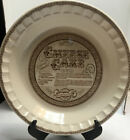 Vintage Royal China Cheese Cake  Pie Plate  10 1/2 Inches Country Harvest EUC