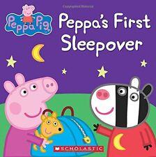 Peppa Pig: Peppa's First Sleepover (2014, Paperback)