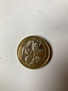 £2 Coin Commonwealth Games Scotland 2002