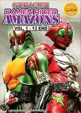DVD Japan Kamen Rider AMAZONS Complete Series (1-13 End) English Subs All Region