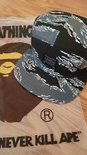 *A BATHING APE TIGER CAMO JET CAP