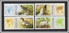 Burkina Faso #1087-1090 Birds W/Labels MNH