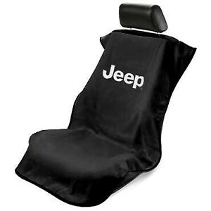 Seat Armour with 'Jeep ' Logo Seat Protector Towel - You Pick Your Color!!