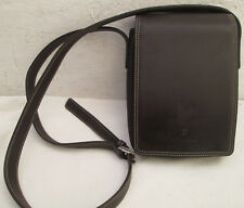 -AUTHENTIQUE sac bandoulière type sacoche LE TANNEUR  cuir  TBEG vintage bag