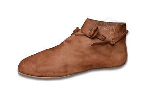 Mittelalter Wikinger Schuhe Halbschuhe Mittelalterschuhe Wendeschuhe Haithabu