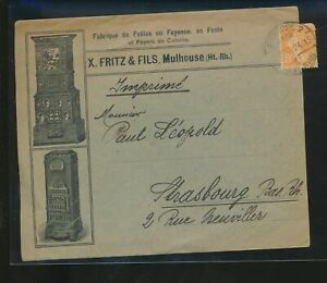 LM85639 Tunisia to Strasbourg good cover used
