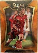 2015 Select Soccer - DAVID SILVA - Variation Orange 023/149 Prizm SPAIN