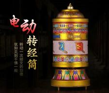Tibetan Buddhism electric prayer wheel rotating wheel with music