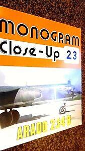 MONOGRAM CLOSE-UP #23: ARADO 234 B / J Richard Smith & Eddie J Creek (1983)