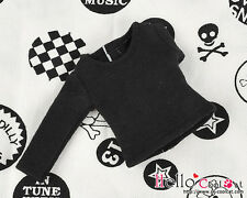 ☆╮Cool Cat╭☆ 222.【NA-22】Blythe Pullip Long Sleeve T-Shirts # Black