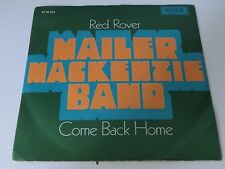Mailer Mackenzie Band Red Rover / Come back home Dutch p/s7 inch Vinyl