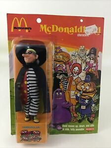 "Mcdonalds McDonaldland Hamburglar Remco 7"" Action Figure 70s Toy Vintage 1976"