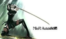 POSTER NIER: AUTOMATA NIER ANDROID YORHA 2B 9S A2 ROBOT GAME GIOCO PS4 FOTO #33