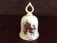 """Grandpa's Girl� Vintage Norman Rockwell Collectible Bell - 1979 Ltd Ed."
