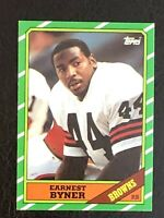 1986 Topps Earnest Byner Rookie Card #189 EX - Cleveland Browns Star