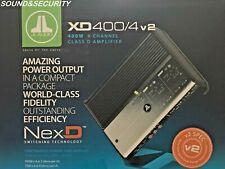 JL AUDIO XD400/4V2 4-CHANNEL 400W CLASS D FULL RANGE AMPLIFIER