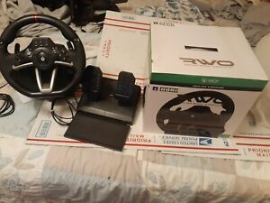 XBOX ONE & WINDOWS HORI RWO RACING WHEEL OVERDRIVER WITH PEDALS