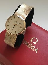 Luxury Polished OMEGA Wristwatches with 12-Hour Dial