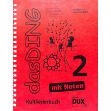 DAS DING 2 Kultliederbuch - 400 SONGS MIT NOTEN! 978-3-86849-185-2 (DUX 7777)