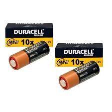 20X Duracell Batterie MN21 A23 LR23A V23GA 12V Bulk