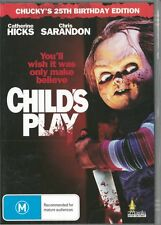 CHILD'S PLAY - CHUCKY'S 25TH BIRTHDAY EDITION REGION 4 NEW & SEALED DVD