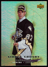 2005-06 UD MCDONALDS HOCKEY 51 SIDNEY CROSBY RC NM MT PITTSBURGH PENGUINS ROOKIE