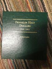 1948-1963Franklin Half Dollars Book Archival Quality