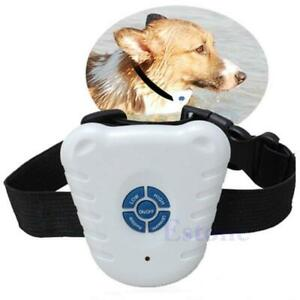 Ultrasonic Control Collar Dog Bark Stop Anti Barking Ne
