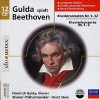 GULDA-KLAVIERKONZERTE 1-5/KLAVIERSONATEN 1-32 12 CD NEW+