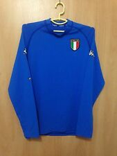 ITALY NATIONAL TEAM 2000/2001 HOME FOOTBALL SHIRT JERSEY MAGLIA L/S KAPPA