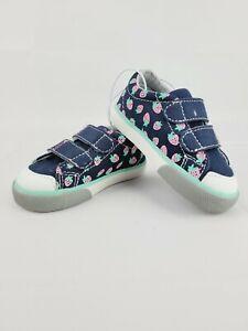 See Kai Run Basics Toddler Baby Girl Morgan Slip On Strawberry Shoes Size 4