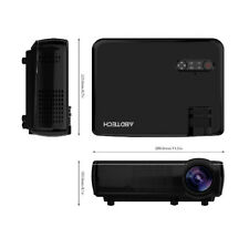 "Portable LED projector LED Spotlight, Project 32"" to 200"" image from your device"
