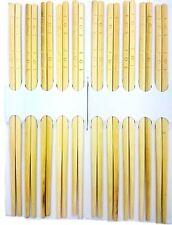 10 PAIA cinese in legno delle bacchette SIG tradizionale usa e getta SUSHI GIAPPONESE
