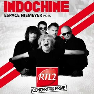 INDOCHINE live à la coupole Espace Niemeyer, Paris (France) - 2 CD Set