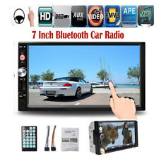 7'' 2 DIN Touch Screen Car Radio Bluetooth MP5 Stereo FM/AUX/USB/TF Mirror Link