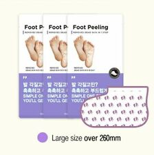 Foot Peeling Mask Pack large size +260mm (1 pack) exfoliates dead skin TOSOWOONG