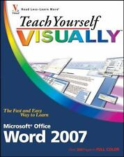 Teach Yourself VISUALLY (Tech): Microsoft Office Word 2007 77 by Elaine Marmel (