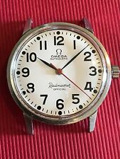 1966 Omega White Railmaster Official  Auto Cal 550 Ref 165.002  Archive Extract