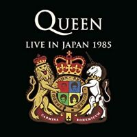 QUEEN CD WITH JAPAN OBI G27 LIVE IN JAPAN 1985 IMPORT