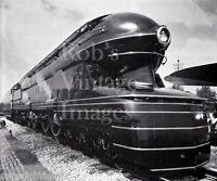 Pennsylvania Railroad S-1 Bullet Steam Locomotive Train 6100 6-4-4-6 Photo 3 PRR