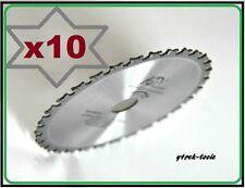 10 x Blade 136mm x 20mm/16mm x 30T METAL CUT Replica Makita B-10615 Top Quality