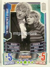 #C03 The Third Doctor & Jo Grant - Alien Attax Doctor Who - 50th Anni
